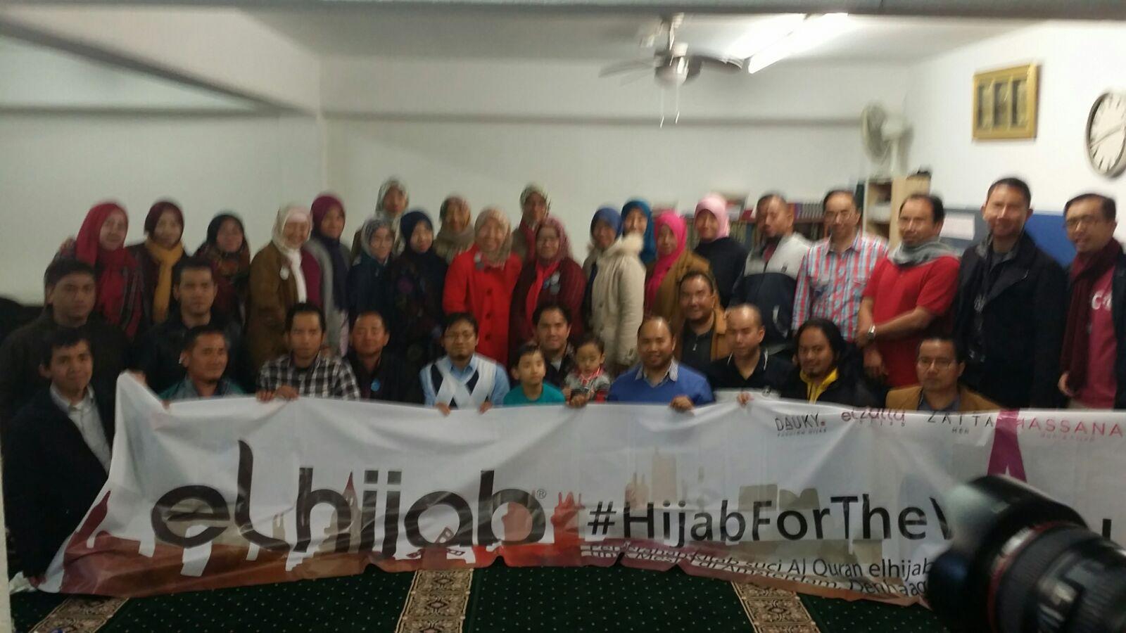 Kunjungan El Hijab dan Bantuan untuk SGB
